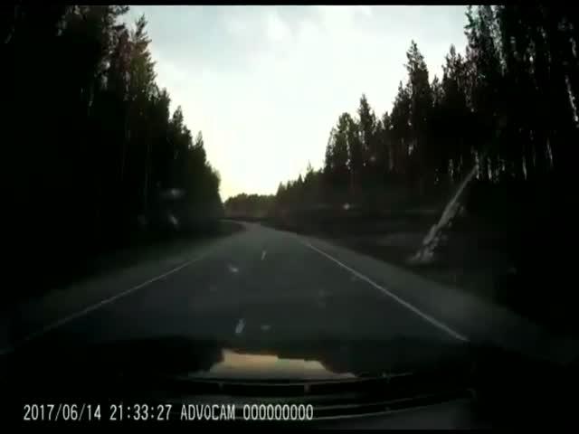 Внезапное окончание дороги