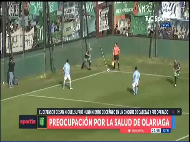 Судья спас жизнь футболисту