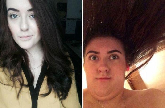 Девушки на аватарках и на обычных фото (17 фото)