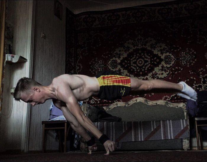 Воркаут на фоне ковра от Станислав Крипака (10 фото + видео)