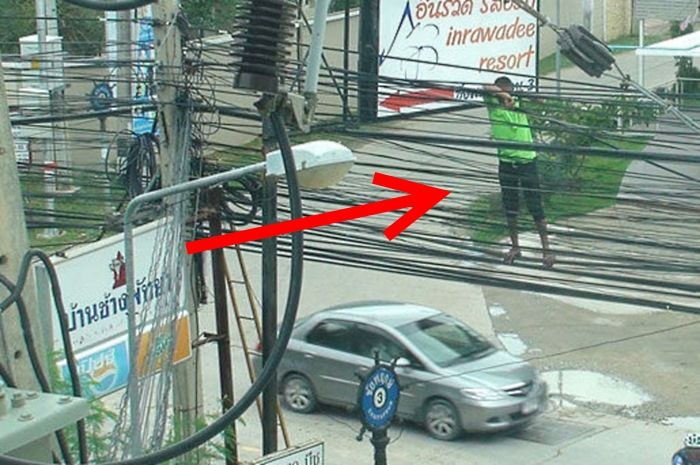 Забавные фото из Таиланда (25 фото)