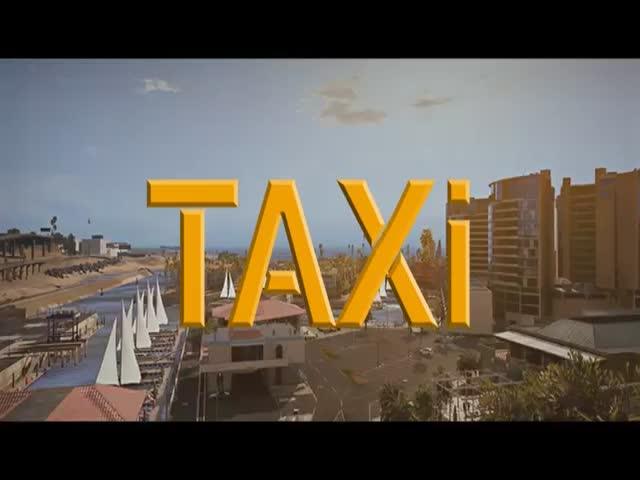 Сцена из фильма «Такси» в игре GTA 5