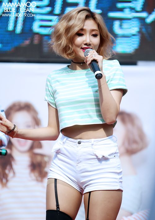 Певица Хваса по прозвищу «корейская Бейонсе» (12 фото)