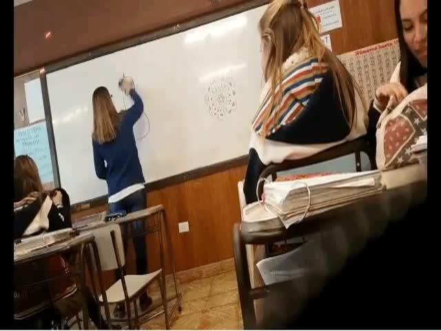 Подшутили над учителем