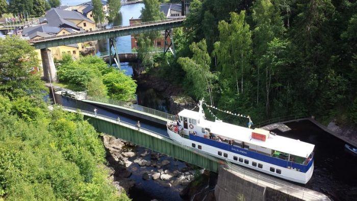 Акведук Хаверуд в Швеции (3 фото)