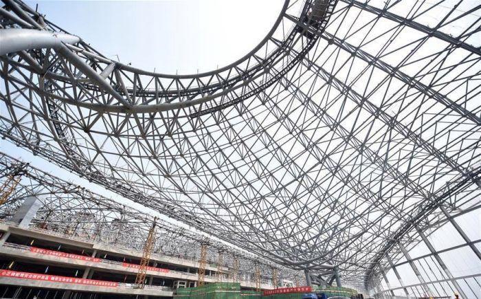 В Пекине строят новый аэропорт (8 фото)