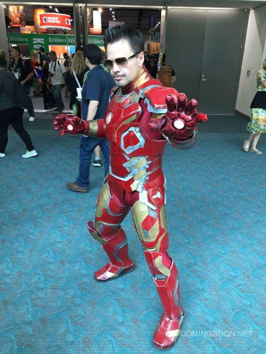 Косплееры фестиваля Comic-Con 2017 (41 фото)