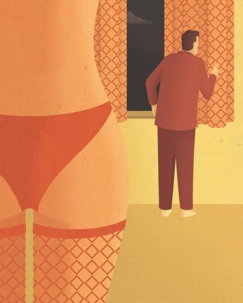 Иллюстрации, срывающие маску с мира, в котором мы живем (15 картинок)