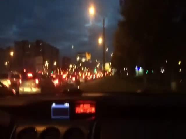 Водитель опубликовал в сети видео с грубым нарушением ПДД