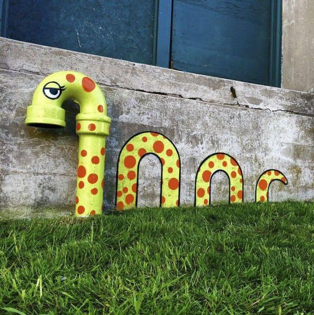 Креативные арт-объекты от художника Тоба Боба (33 фото)