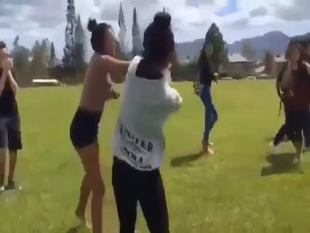Девушка сделала большую ошибку, поссорившись со спортсменкой MMA