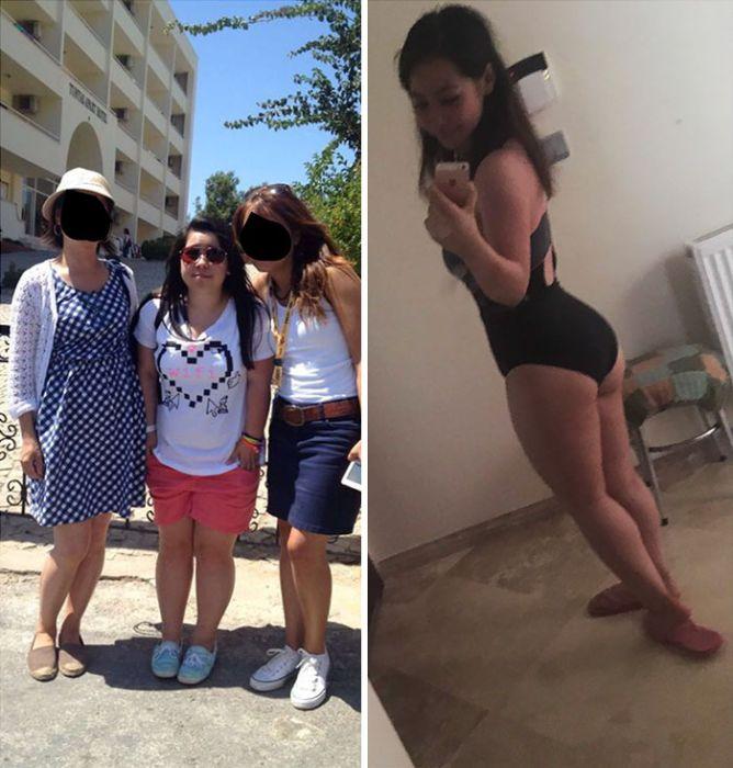 Преображение невысокой девушки (9 фото)
