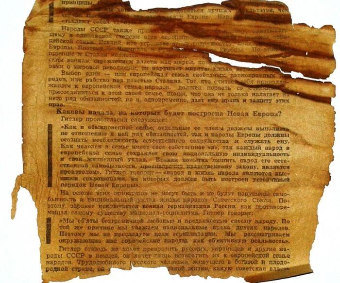 Немецкие агитационные листовки времен Великой Отечественной войны (13 фото)