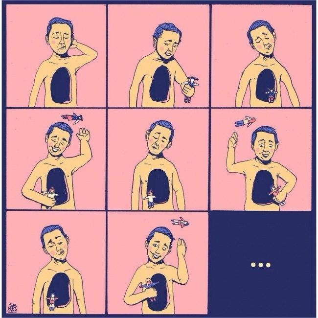 Жизненные иллюстрации от Sako-Asko (10 картинок)