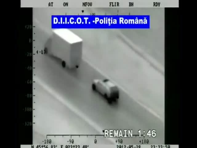 Ограбление грузовика по мотивам «Форсажа»