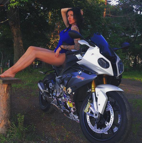 В Приморье погибла известная байкерша (20 фото)