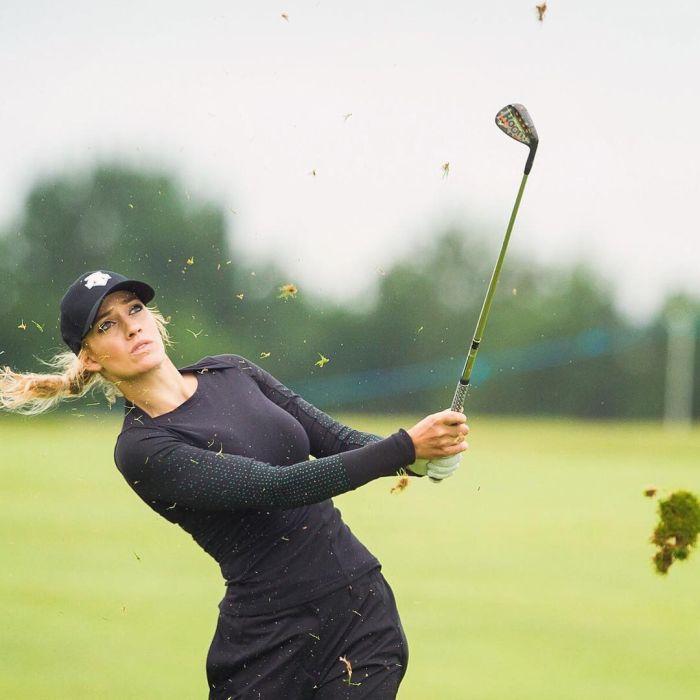 Пейдж Спиранак - одна из самых красивых гольфисток мира (21 фото)