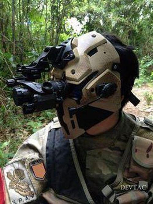 Шлем подразделения SAS, защищающий от пуль (3 фото)
