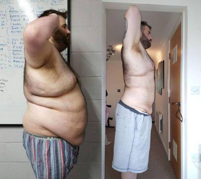Толстый Похудел Фото.