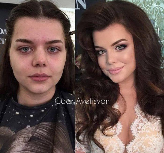 Чудодейственная сила макияжа (43 фото)