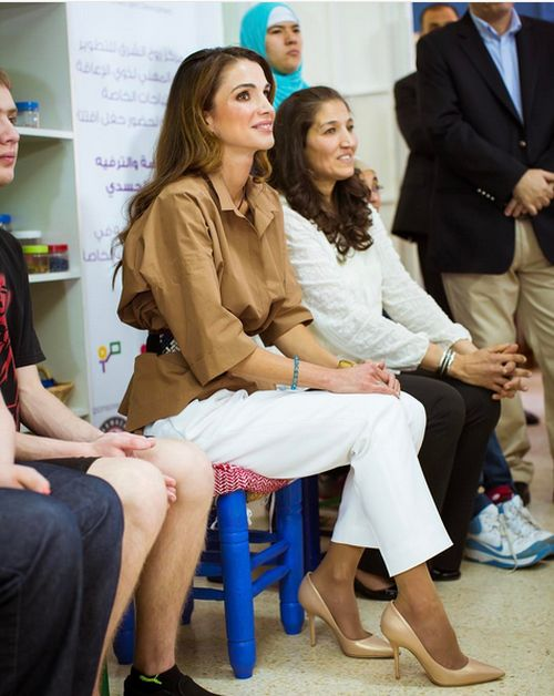 Королева Иордании Рания аль-Абдулла (20 фото)