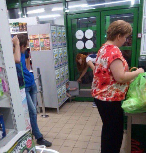 Фото, которые возможно было сделать только в России. Часть 79 (35 фото)