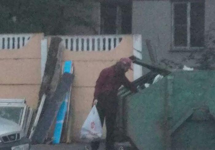 Современные бездомные (2 фото)