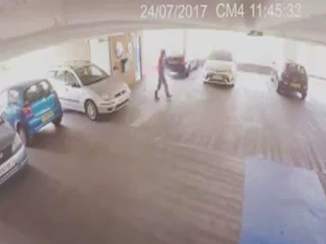 Автоугонщик попался на глаза бойцу ММА