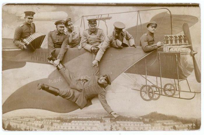 Забавные армейские фото, 1912 - 1945 (24 фото)