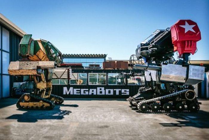 Компания MegaBots представила боевого робота Eagle Prime (9 фото + видео)