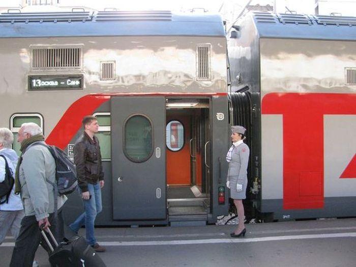 Питание в купейных вагонах новых поездов Москва - Санкт-Петербург (4 фото)