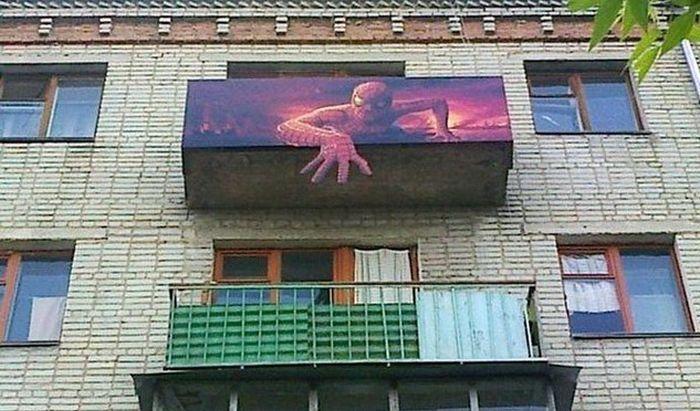 Российские балконы (30 фото)