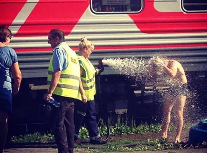 Романтика российских поездов (25 фото)