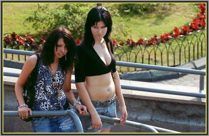 Летние девушки (48 фото)