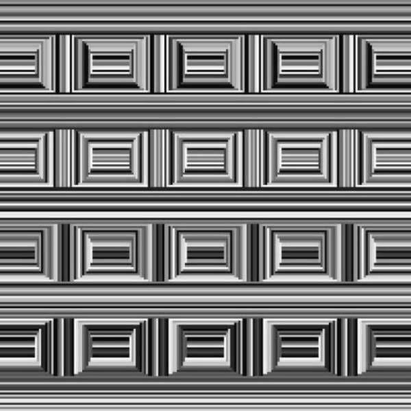 Оптическая иллюзия: в какой мере кругов в этой картинке?