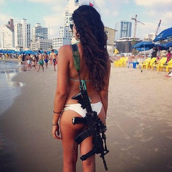Девушки из армии Израиля (52 фото)