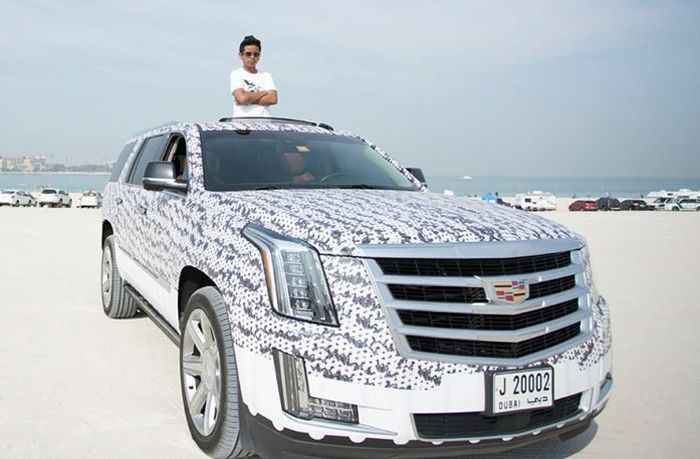 Красивая жизнь подростка Рашида Белхаса из Дубая (21 фото)