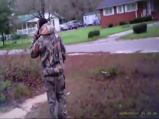 Преступник в упор расстрелял полицейского