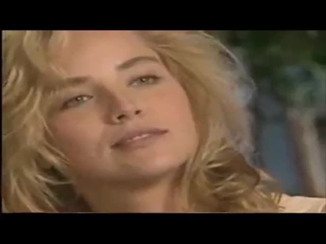 Шэрон Стоун показала видео с кинопроб к триллеру «Основной инстинкт»