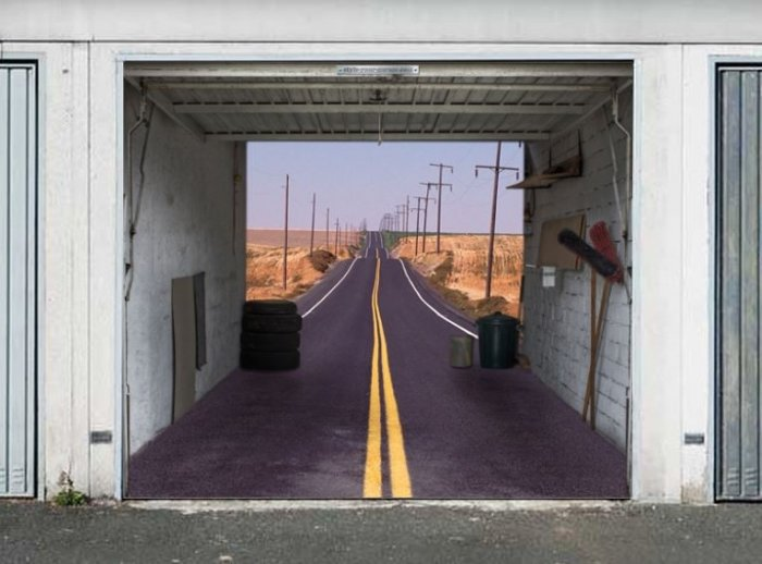 Необычные потерна в целях гаража (30 фото)