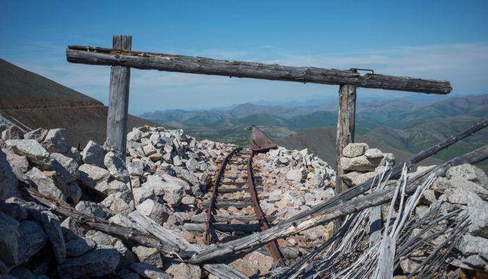 Развалины лагеря «Бутугычаг» во Магаданской области (24 фото)
