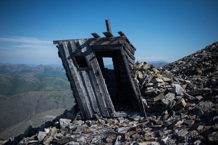Развалины лагеря «Бутугычаг» в Магаданской области (24 фото)