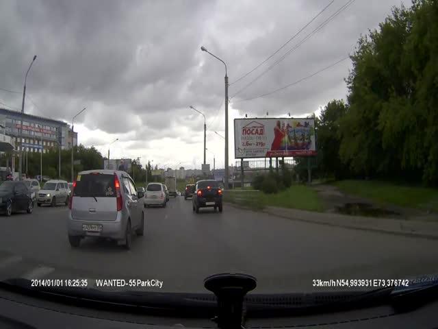 Дорожная разметка в Омске