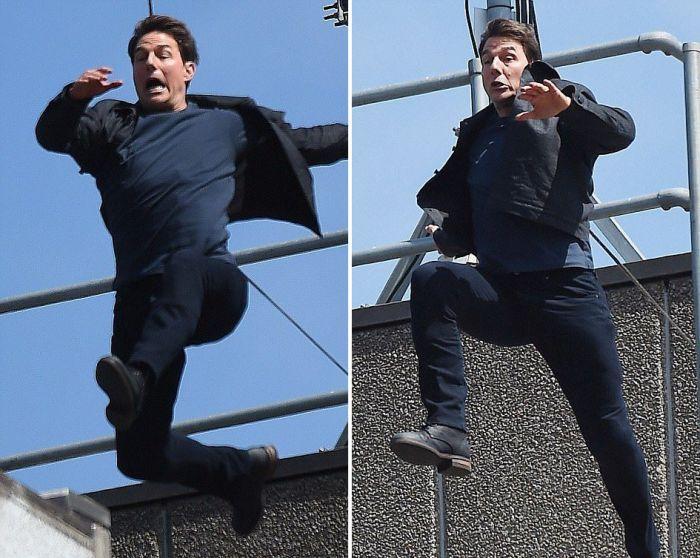 Том Круз заработал трансформация для съемках фильма «Миссия невыполнима 0» (6 фотоотпечаток + видео)