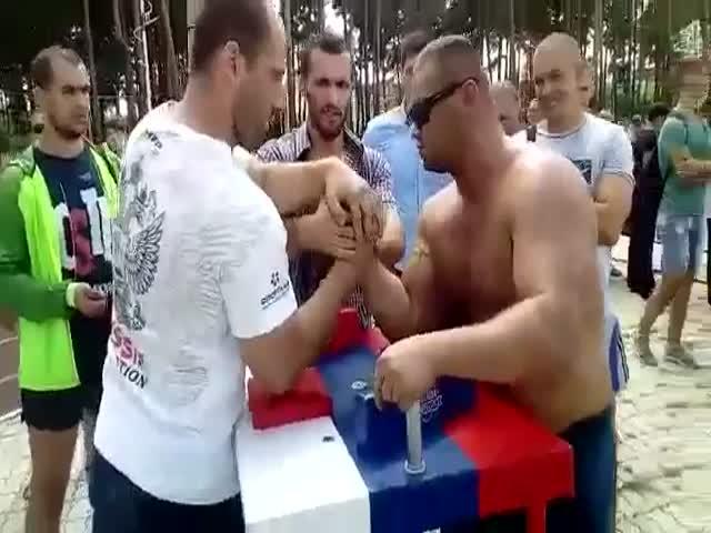 Драка на День физкультурника в Белгороде
