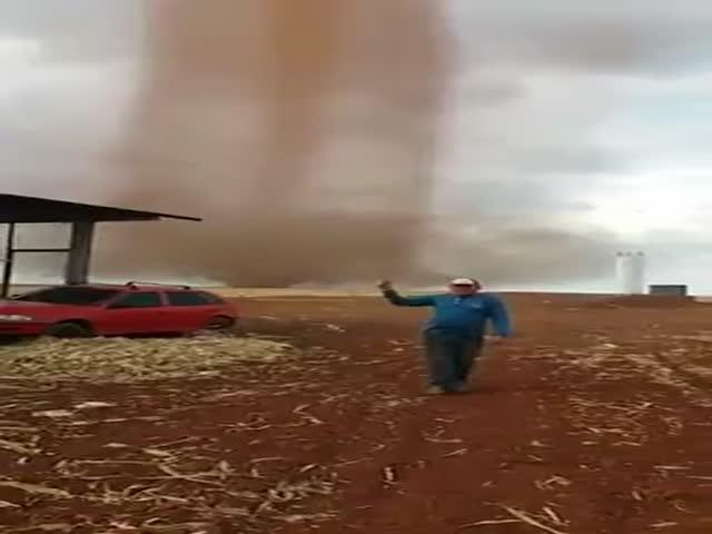 Торнадо в Бразилии