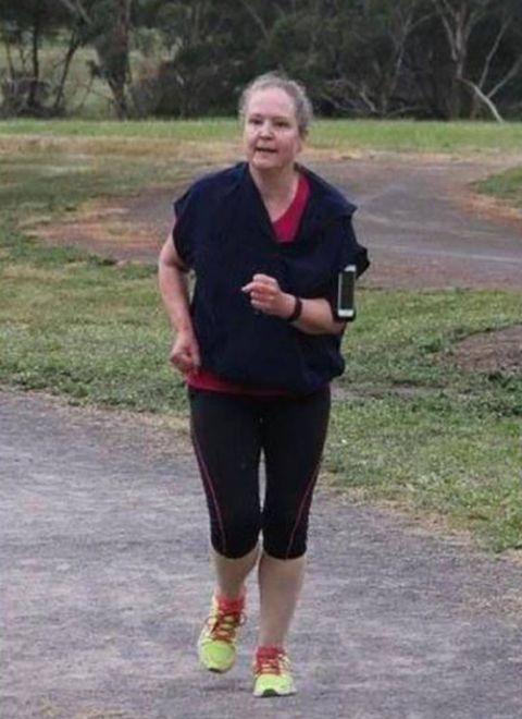 Регулярный бег сделал свое дело (2 фото)