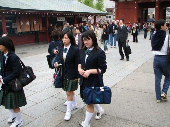 Фото, которые возможно было сделать только в Японии (52 фото)
