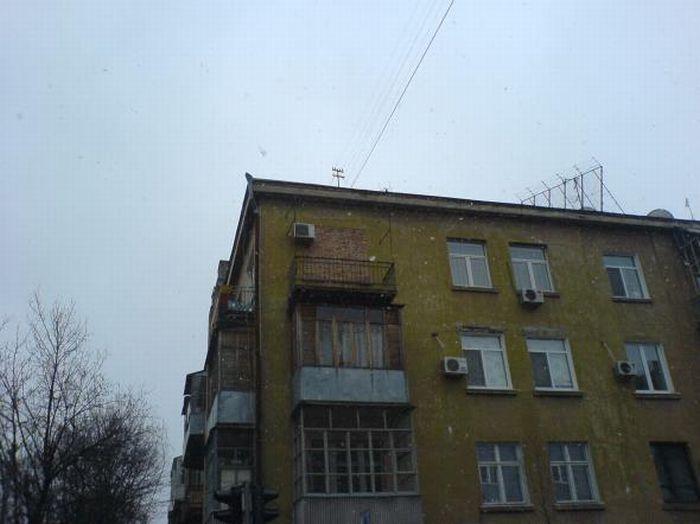 Фейлы строителей и коммунальщиков (33 фото)