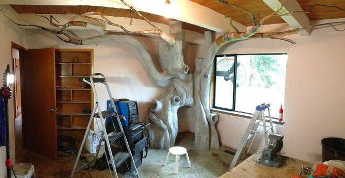 Волшебное дерево в комнате дочери (50 фото)